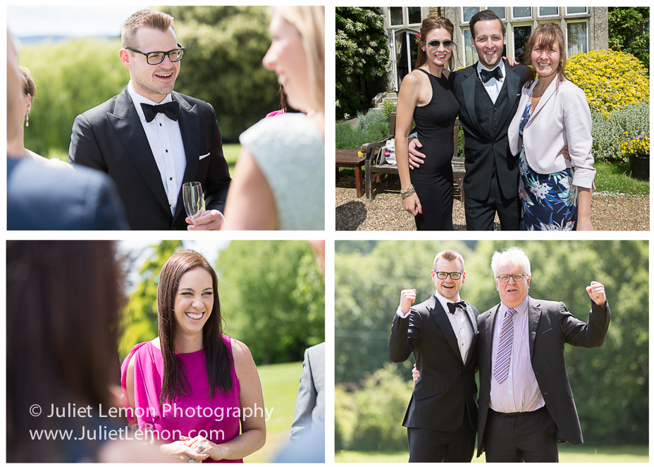 Hartsfield Manor wedding photographer - putney wedding photographer sg_03_bw